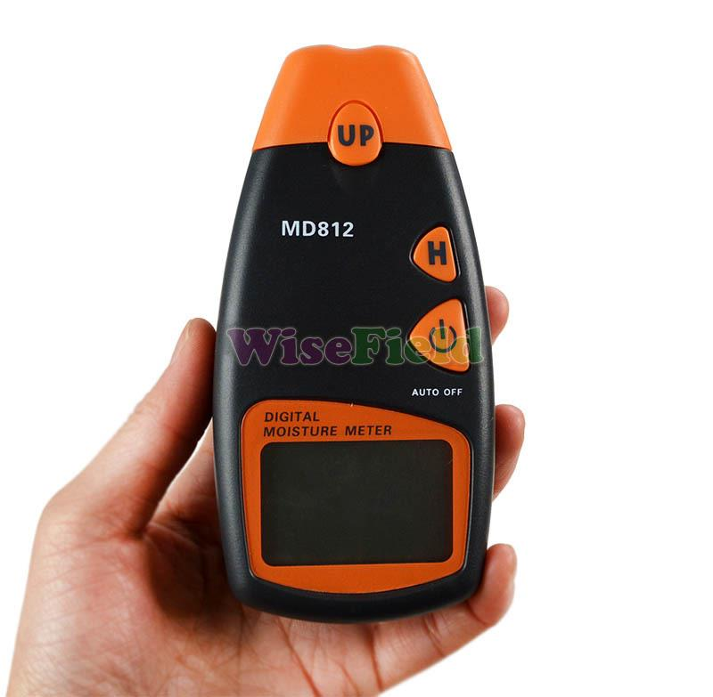 Digital LCD Wood Moisture Humidity Meter Electric Tester Tools Private Label Logo Brand Customize Wholesale
