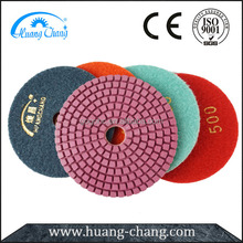 AAA Grade Durable Abrasive Concrete Polishing Pads for Engineered Stone