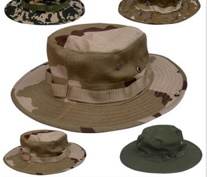 Military Camo Boonie/matching Hat with BDU/tCamping Hiking Trsvel Fisherman Hat