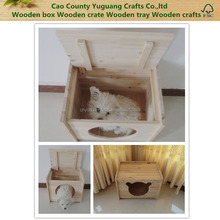 Wooden pet house,wooden pet box,Wooden dog cage
