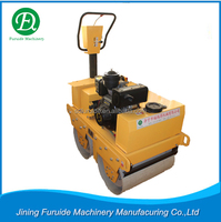 Walk behind double drum vibratory roller with electromagnetic clutch (FYL-S600C)