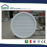 Made in China modern house design window blind aluminum round window