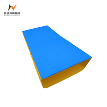 Cheap folding large gymnastics exercises thick tumbling mats equipment