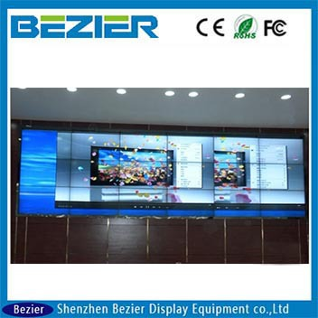 seamless LG 42 inch narrow bezel lcd video wall 20mm interactive LED splice video wall for advertising quality control