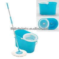 360 degree spin mop/microfiber car wash mop/magic mop with hand press handleFIT9066
