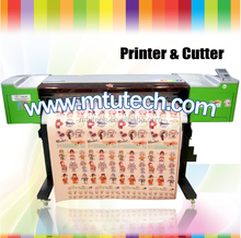 2016 High speed digital Eco solvent printer cutter