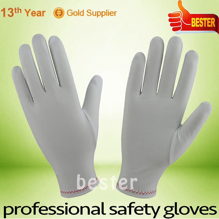 Made in Zhongshan China hotsell natural cotton parade gloves