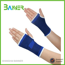 Factory Price Blue Elastic Sports Wrist Protector