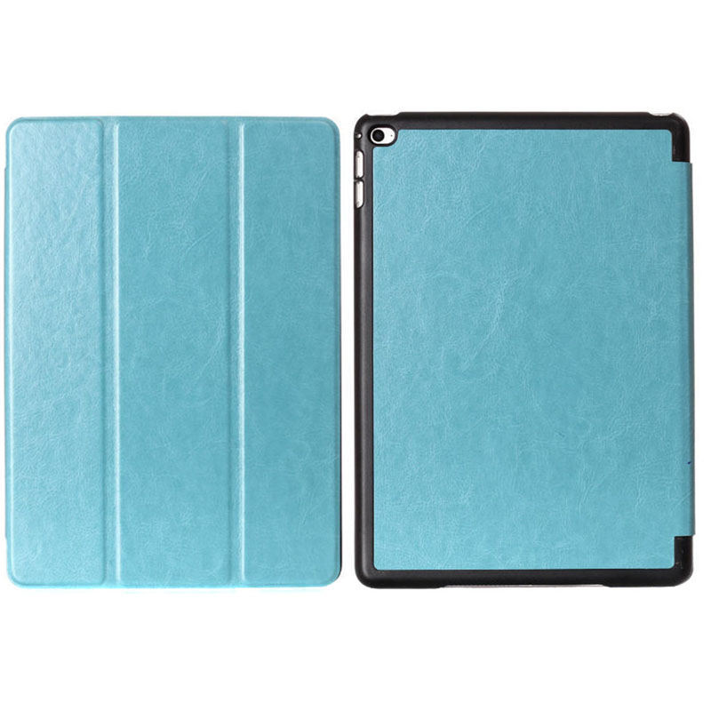 Crazy horse pattern for i Pad air2 Tri-folding flip cover