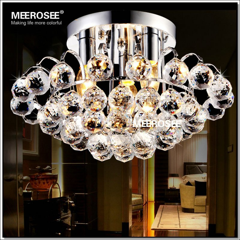 beautiful crystal decoration ceiling lights for bedroom