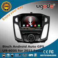 ugode HD 9 inch dashboard placement for ford focus 2015 car dvd player
