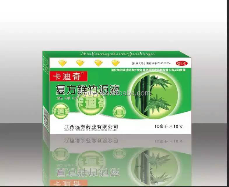 Herbal Extract Relieve Cough Syrup