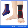 2017 best selling Compression knitted foot sleeve sports socks Ankle Support