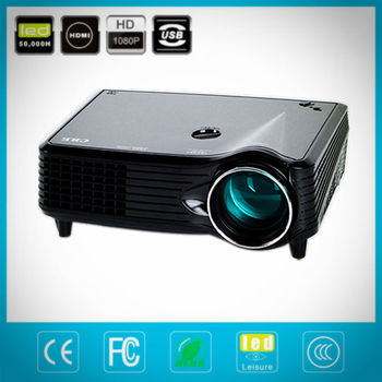 led protable cheap video projector with high display effect performance hot selling!!!