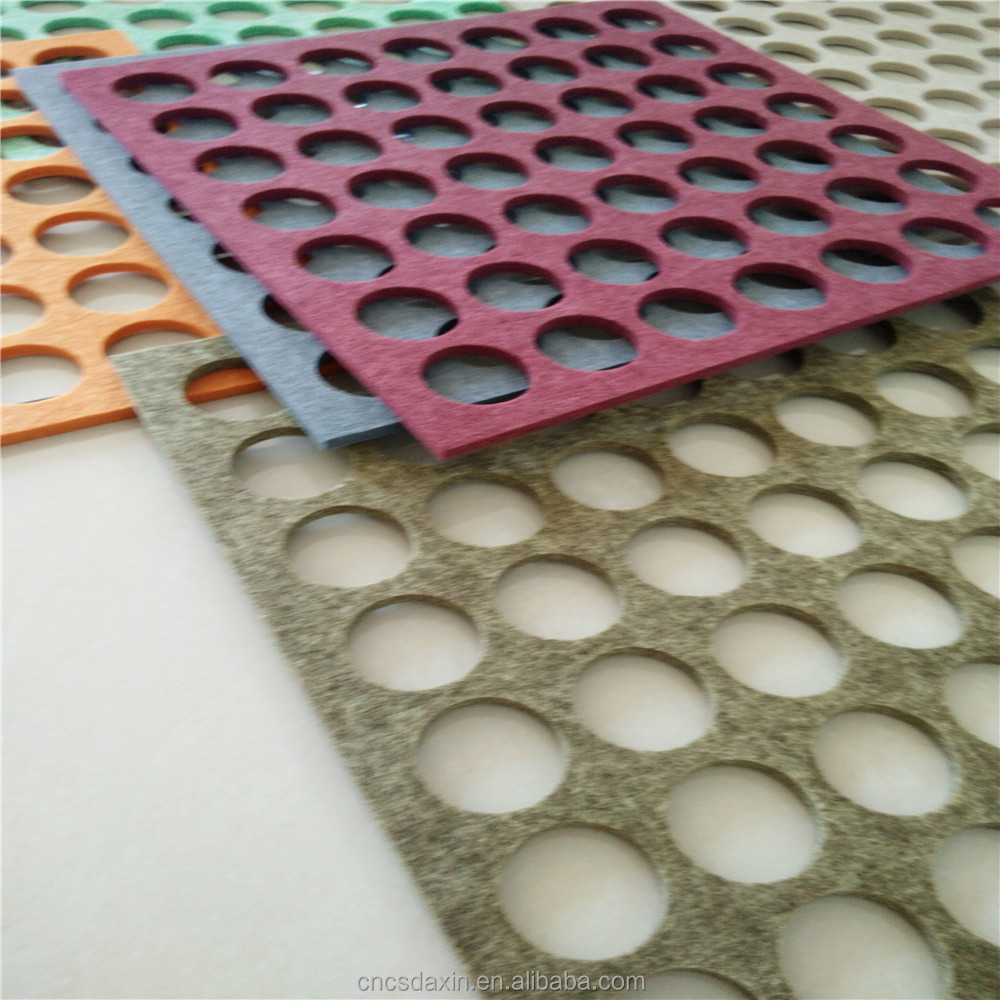 Chinese supplier flet fabric and Sound-absorbing panel art craft