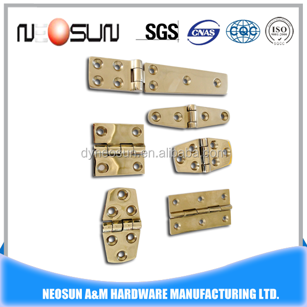 stainless steel 316 casting Marine/ship/boat hinge