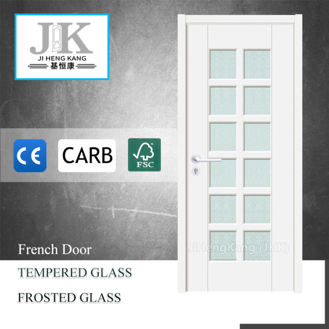 JHK G22 Glass Door For Wooden Frame Cold Room Glass Door 15 Panel Glass Door