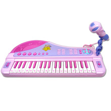 kids musical instrument toy piano with microphone