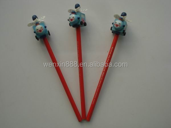 promotional gift HB wooden cute wood pencil for kids