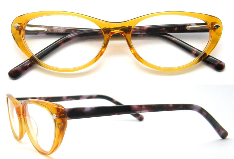 full rim eyeglass frames female women acetate cat eye glasses frames customs brand glasses frame