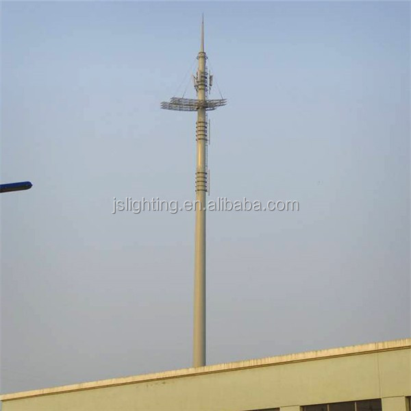radio communication tower antenna pneumatic auto locking telescopic masts