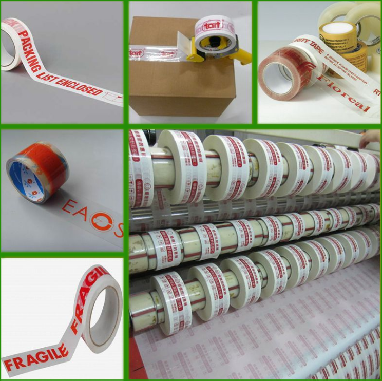 Competitive Price Custom Acrylic Adhesive Bopp Packing Tape For Carton Sealing