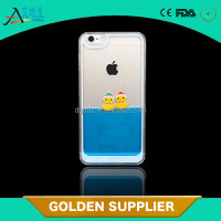 Liquid phone protector plastic customize cellphone case for iphone 6