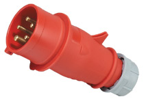 CEE/IEC IP44 16A/32A 5pin plug & socket electric power male and female industrial plug