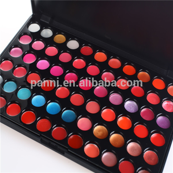 Best shine lipgloss 66 full color lipgloss with own logo charming lipgloss palette