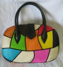 Colorful Native (Buntal Oblong) Handbag