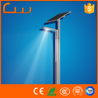 3 years warranty 4M garden lighting pole solar powered LED work light