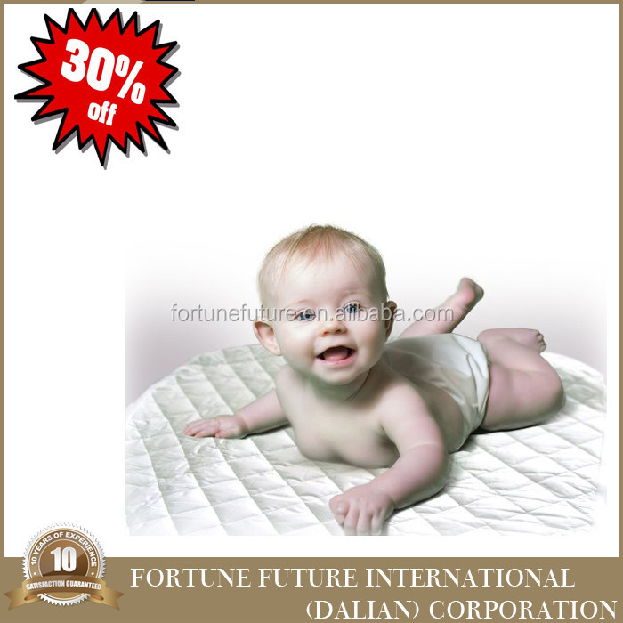 Cheap 100% cotton quilted waterproof crib mattress pad