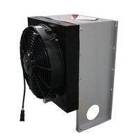 heat exchanger with fan,truck cab heater,keep drivers warm,aluminum plate fin type