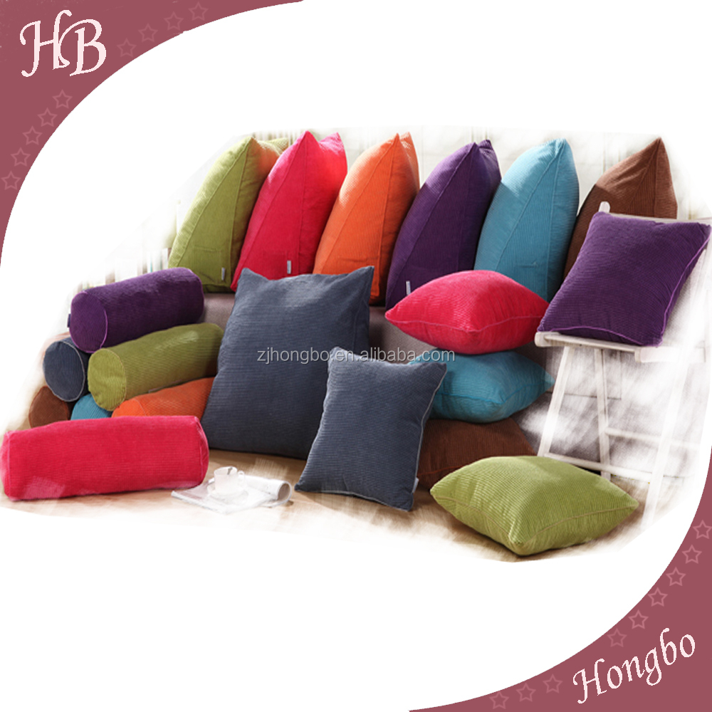 Printing and Solid color Cotton seat cushion for sofa bed chair