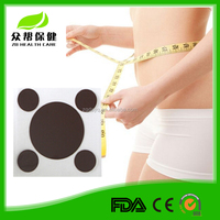 Factory new style stone needle therapy adhesive magnetic slim patch effect weight loss plaster