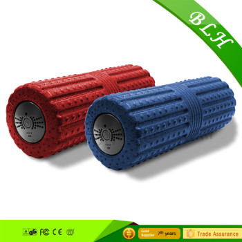fitness sport vibrating foam massage roller for yoga and exercise