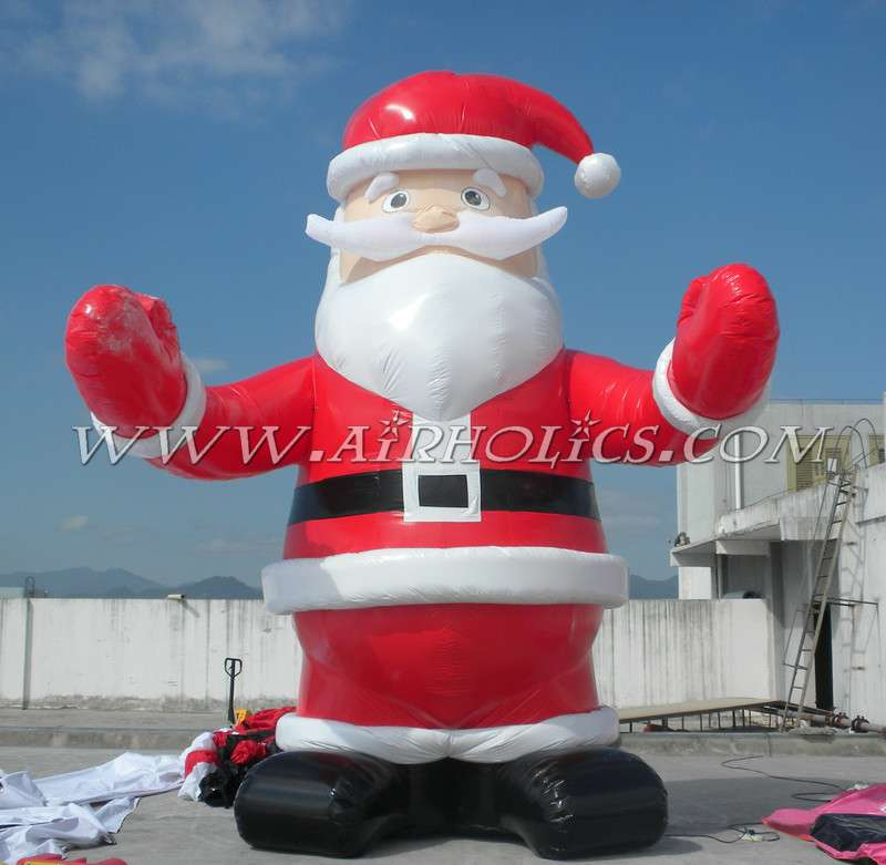 Hola huge inflatable <strong>christmas</strong> santa claus/inflatable <strong>christmas</strong>