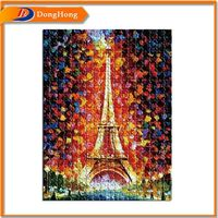 12 Piece Puzzle,Sublimation Puzzles,3D Pyramid Jigsaw Puzzle