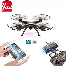 Remote Control Mode 4 Channel 2.4G 6-Axis Gyro RC Headless Quadcopter UAV Drone with 2MP HD Camera