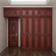 Bedroom Series Wooden Wardrobe Door Designs