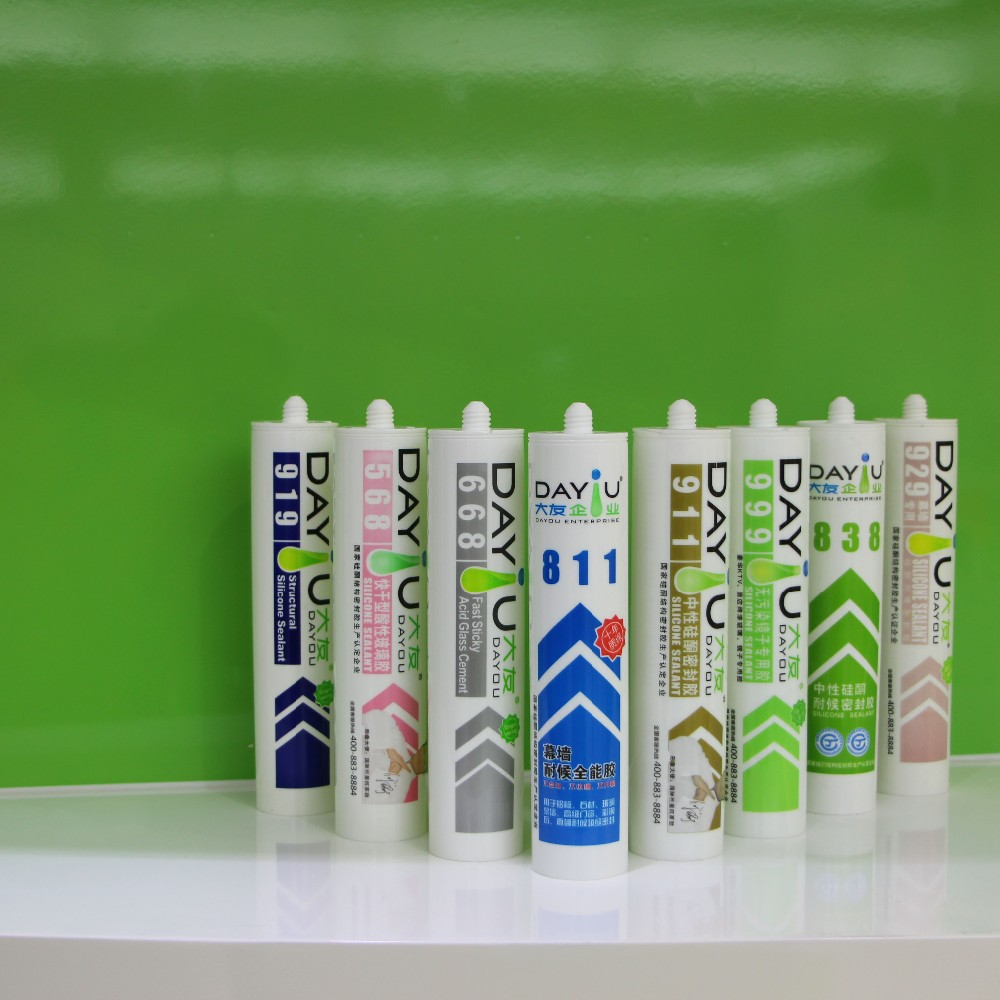 DAYOU structural glazing Silicon sealant JY989
