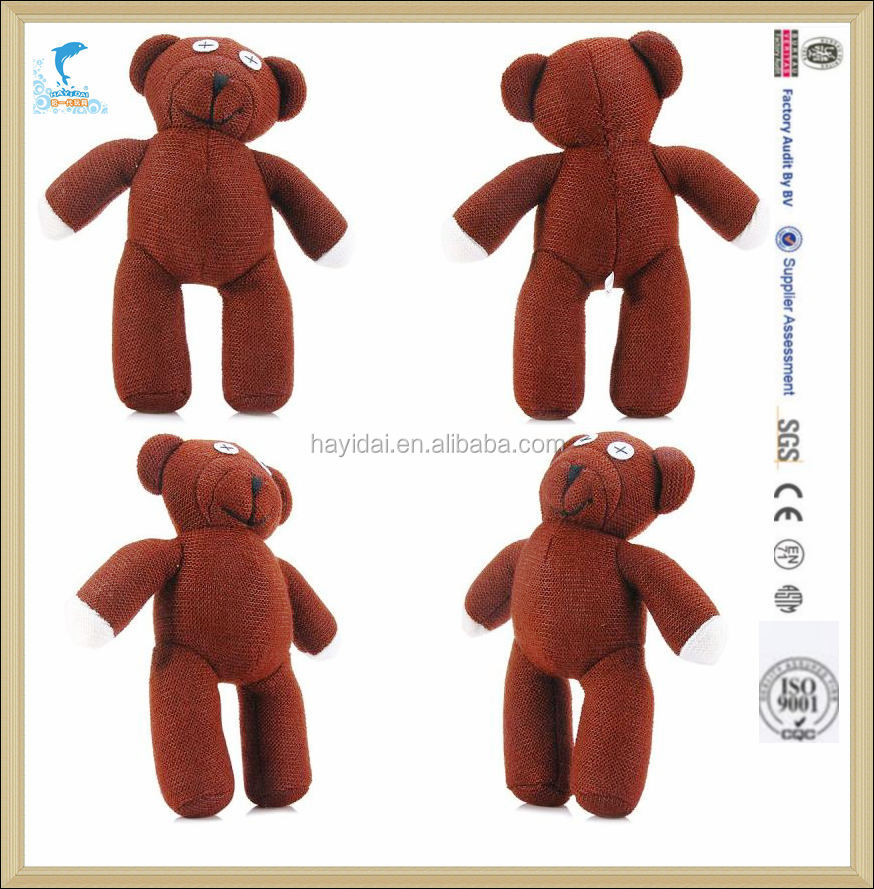 25cm Mr. Bean Teddy Bear Inch Stuffed Toy Plush Doll Birthday Gift