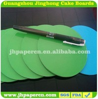 Customize paper cake circle board