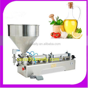 Hot sale Alibaba China semi automatic liquid filling machine