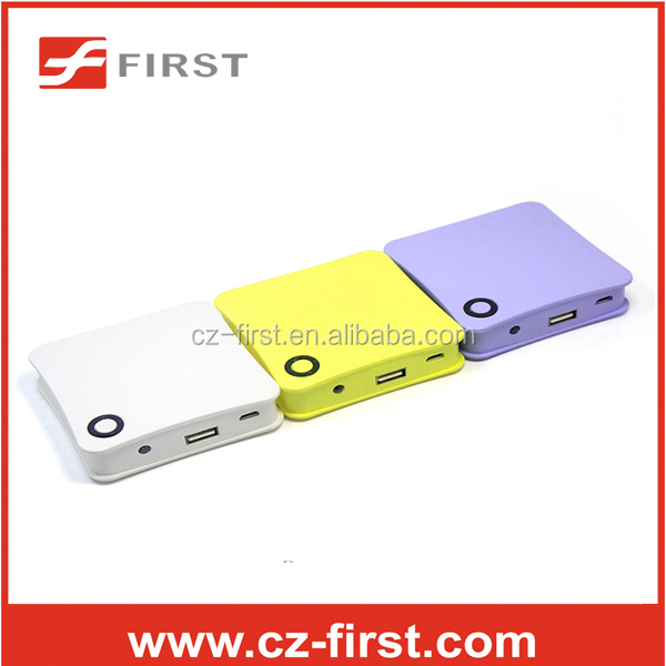 Good quality smart power bank with charging cable