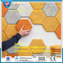 high structural density large animal traffic use rubber flooring mat