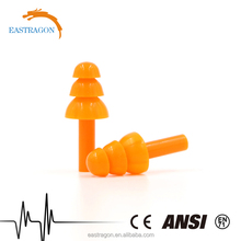 Working Noise Reduction Silicon Soundproof Earplugs