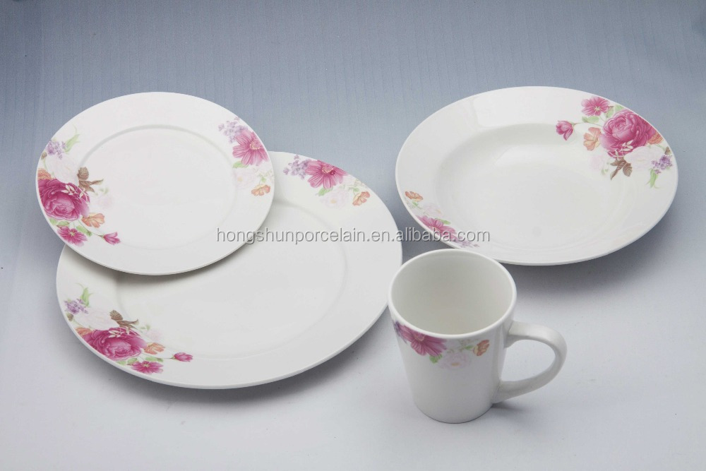 Artistic Porcelain Fine China Indian Dinnerware Sets