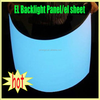 Solution for Flats- Use Electroluminescent Flat Panel Backlight