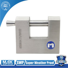 MOK 701SS 70mm 80mm big size Hidden shackle safe key lock